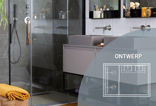 Badkamer met hexagon tegels - Kenmerken badkamer met hexagon tegels