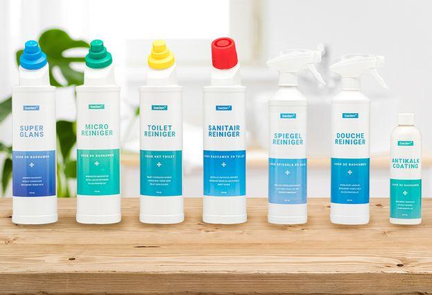 Antikalk coating - 1. Baden+ Krachtige bescherming voor de badkamer