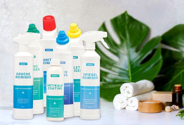 Baden+ schoonmaakmiddelen - krachtig team