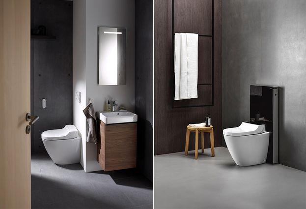 Geberit AquaClean Tuma - Aquaclean Tuma staand toilet