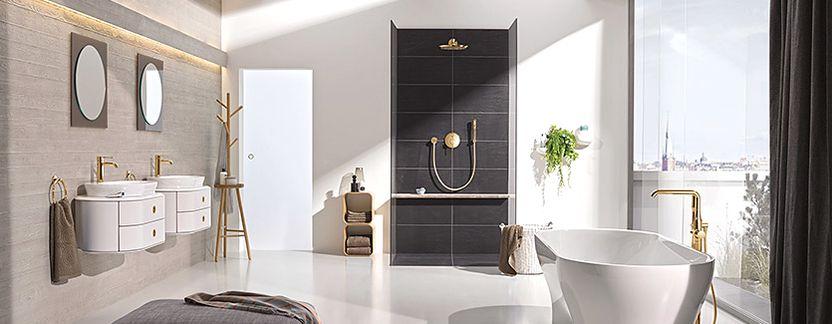 Grohe Essence New Colour kranen voor een unieke badkamer - Baden+
