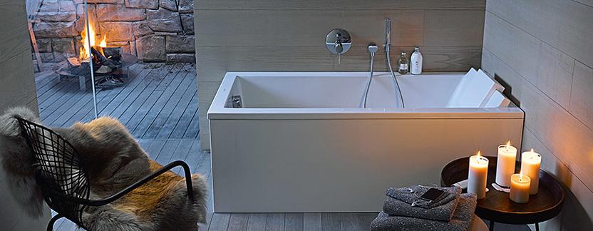 Luxe badkamer - royaal design ligbad