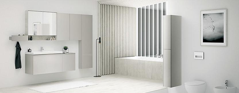 Comfort badkamer met extra opbergruimte