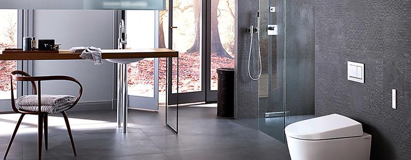 Comfort badkamer - douchewc hygiënische reiniging met water