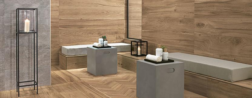 Mix & Match houtlook tegels badkamer