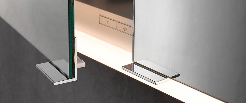 Keuco spiegelkast - Royal Modular - detail: bediening verlichting