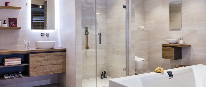 Badkamerdomein badkameropstelling