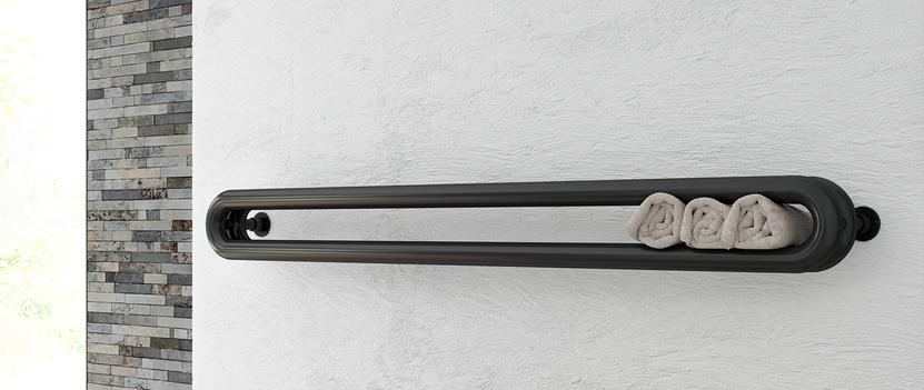 Radiator met bijzondere vorm